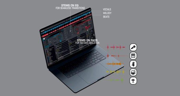 Virtual DJ stems