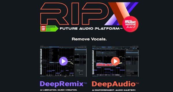 RipX DeepRemix and DeepAudio