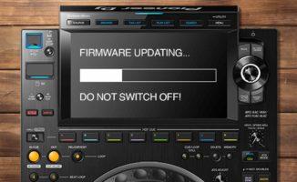 CDJ-3000 firmware updating